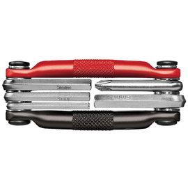 crankbrothers M5 MULTI TOOL - BLACK/RED