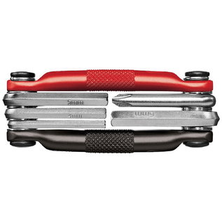 crankbrothers CRANK BROTHERS M5 MULTI TOOL - BLACK/RED