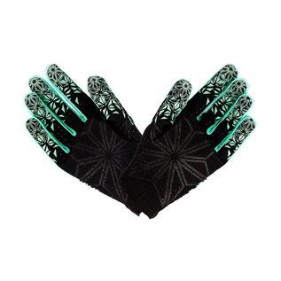 Supacaz Supacaz SupaG Long Road Gloves - Black/Celeste