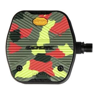LOOK Look GEO City Grip Platform Pedals - Camo