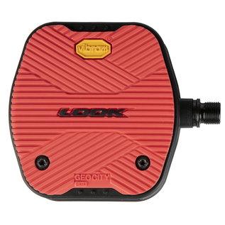 LOOK Look GEO City Grip Platform Pedals - Red
