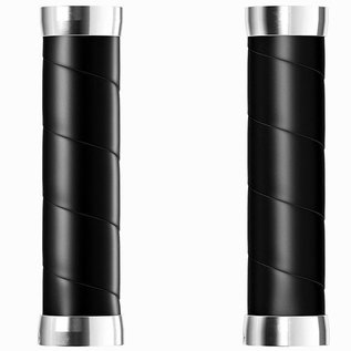 Brooks Brooks Slender Grips - Leather Wrap - Black