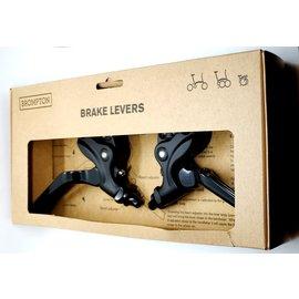 Brompton Brake Lever V2 pair - Black/Black