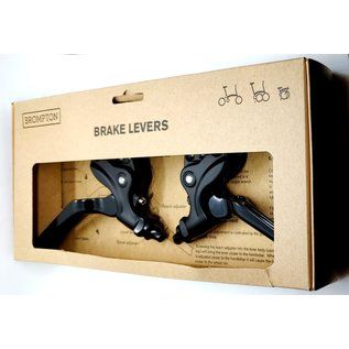 Brompton Brompton Brake Lever V2 pair - Black/Black