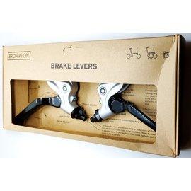 Brompton Brake Lever V2 pair - Silver/Black