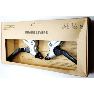 Brompton Brompton Brake Lever V2 pair - Silver/Black