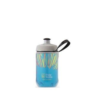 Polar Bottle Polar Bottle, Kid's Insulated 12oz, Water Bottle, 350ml / 12oz, Azure Blue