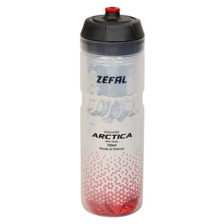 Zefal Zefal, Arctica 75, Insulated bottle, 750ml, Silver-Red