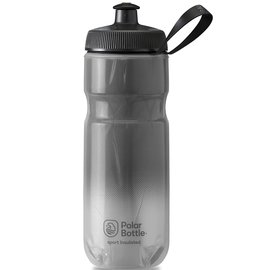 Polar Bottle Insulated, 590ml / 20oz - Charcoal/Silver