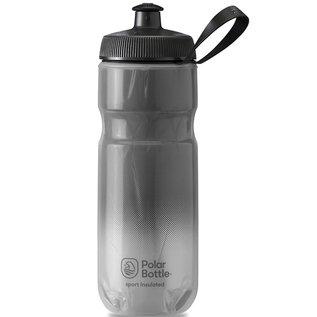 Polar Bottle Polar Bottle, Insulated 20oz, Water Bottle, Charcoal - Silver