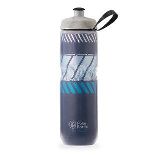 Polar Bottle Polar Bottle, Insulated 24oz, Water Bottle, Navy - Sky Blue