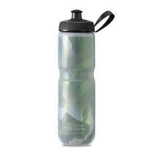 Polar Bottle Polar Bottle, Insulated, 710ml / 24oz - Olive Green/Silver