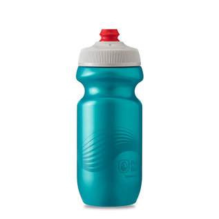 Polar Bottle Polar, Breakaway 20oz, Water Bottle, Teal - Silver