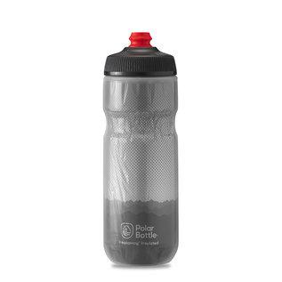 Polar Bottle Polar, Breakaway Insulated 20oz, Water Bottle, Charcoal - Silver