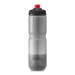 Polar Bottle Polar, Breakaway Insulated 24oz, Water Bottle, Charcoal - Silver