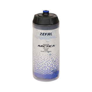 Zefal Zefal, Arctica 55, Insulated bottle, 550ml, Silver-Blue