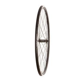 Wheel Shop Tour 16 Black/ Shimano Sora HB-RS300, Wheel, Front, 700C / 622, Holes: 32, QR, 100mm, Rim