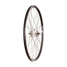 Wheel Shop Tour 16 Black/ Formula TH-50, Wheel, Front, 700C / 622, Holes: 32, Bolt-on, 100mm, Rim