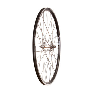 Wheel Shop Evo Tour 16 Black/ Formula TH-50, Wheel, Front, 700C / 622, Bolt-on, 100mm, Rim