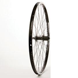 Wheel Shop Alex DM18 Black/ Shimano Acera FH-T3000, Wheel, Rear, 26'' / 559, Holes: 36, QR, 135mm, Rim, Shimano HG