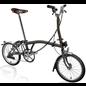 Brompton 2022 Brompton Bike Pre-Order - Gloss Black Lacquer