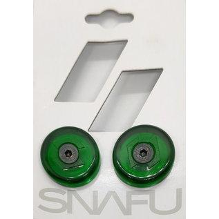 SNAFU SNAFU PC BAR ENDS - GREEN