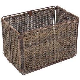 Axiom Faux Wicker Folding Side Basket