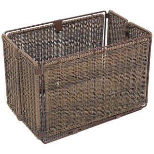 Axiom Faux Wicker Folding Rear Basket