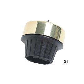 Mirrycle Incredibell Grip Bell Brass