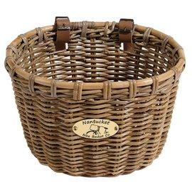 Nantucket Tuckernuck Oval Basket, 14''x11''x9.5