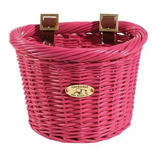 Nantucket Gull Basket - Pink