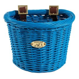 Nantucket Buoy Basket, Blue, 10''x7.5''x7.5