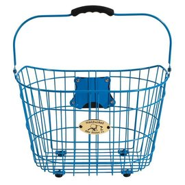 Nantucket Surfside Basket, Blue, 15''x11''x10