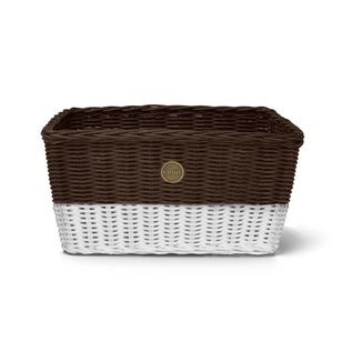 LINUS Farmers Basket - Brown/White