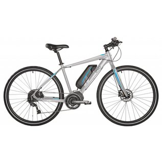 Evo EVO Fastway 3.0 - Shimano STePS mid-drive e-bike - Grey/Blue