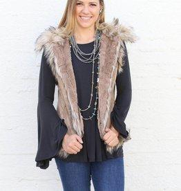 Luxe Fur Vest