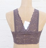 Punchy's Midnight Wide Lace Bralette