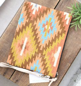Punchy's Multi Color Navajo Carpet Clutch