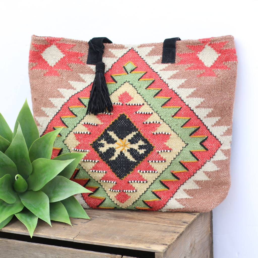 Punchy's Santa Fe Carry All Tote