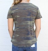 Punchy's The Camo Crew Neck Tee