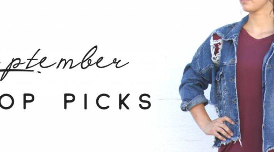 September Top Picks
