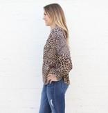 Punchy's Leopard Long Sleeve Blouse