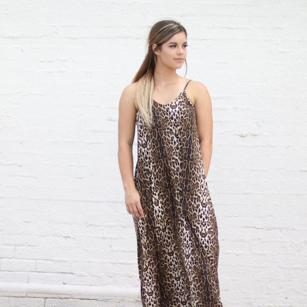 14f4b46f74 Go Wild Leopard Print Maxi Dress