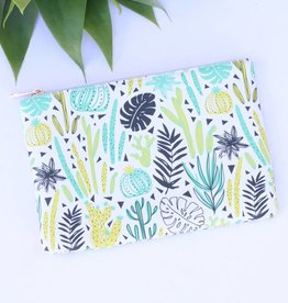Punchy's Crazy for Cactus Vinyl Pouch