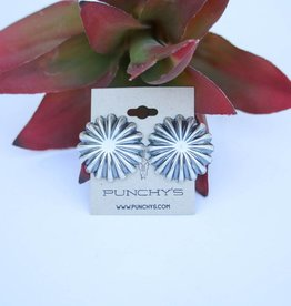 Punchy's Statement Concho Stud Earring
