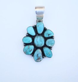 Punchy's Carico Lake Flower Pendant