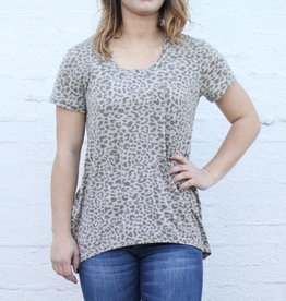 Punchy's Leopard Basic Tee