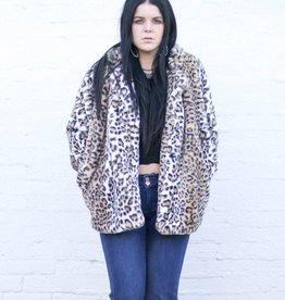 Punchy's Leopard Faux Fur Coat