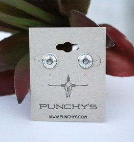 Punchy's Small Sterling Silver Windmill Stud