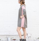 Punchy's Color Block Tencel Woven Dress